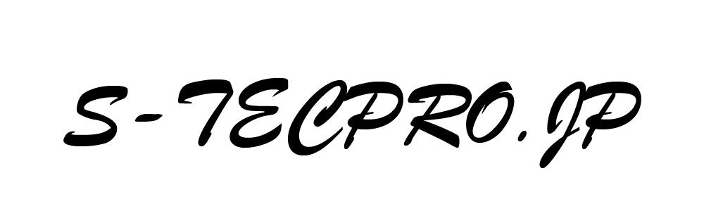 BCエンブレム - 刺繍 英語スクリプト体大文字